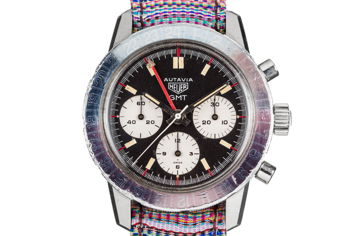 Heuer Autavia GMT 2446C with Ghost Bezel photo, #0