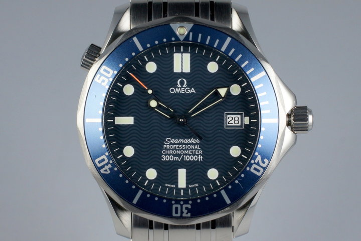 Omega Seamaster 2531.80 Blue Wave Dial photo