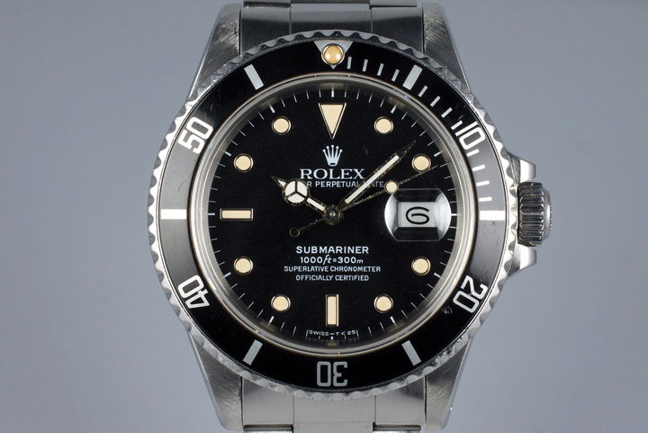 1986 Rolex Submariner 168000 photo