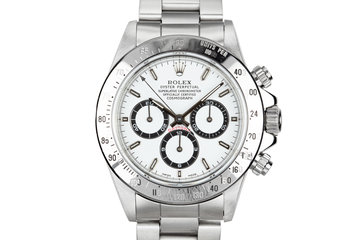 1993 Rolex Zenith Daytona 16520 White Dial photo