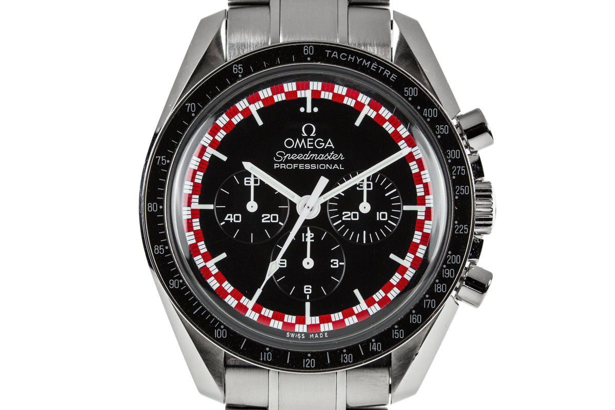 "2016 Omega Speedmaster Racing 311.30.42.30.01.004 ""Tin Tin"" Dial photo, #0"