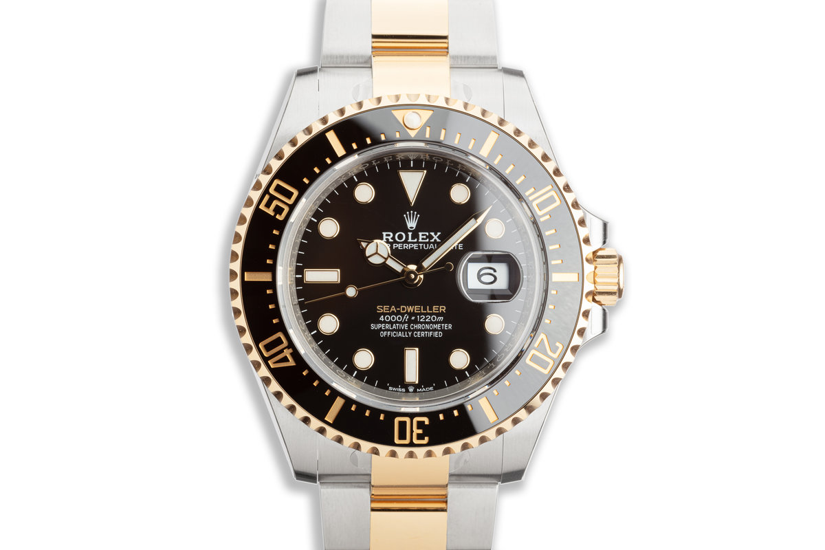2020 Rolex Two-Tone Sea-Dweller 126603 with Box and Card photo, #0