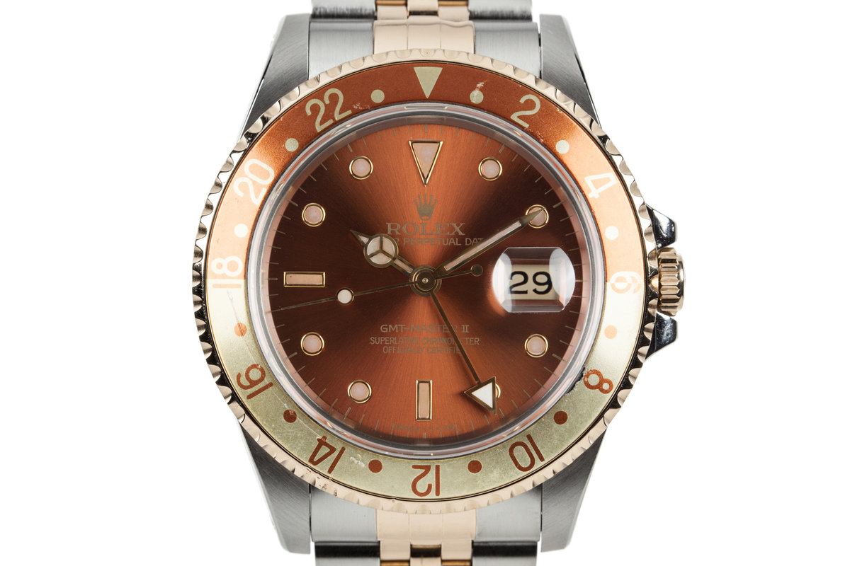 1991 Rolex Two Tone GMT-Master II 16713 photo, #0