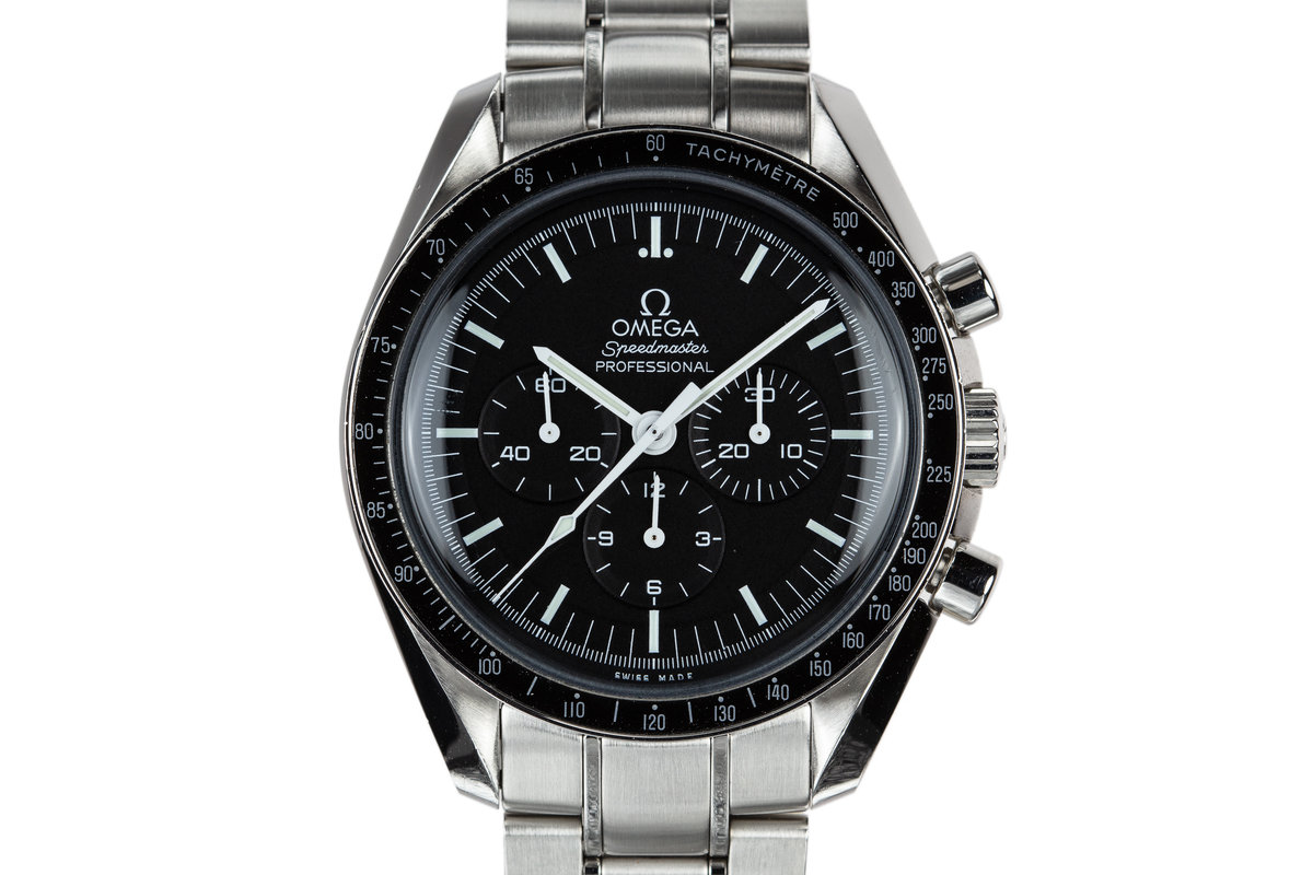 2017 Omega Speedmaster Professional 311.30.42.30.01.005 with Papers photo, #0
