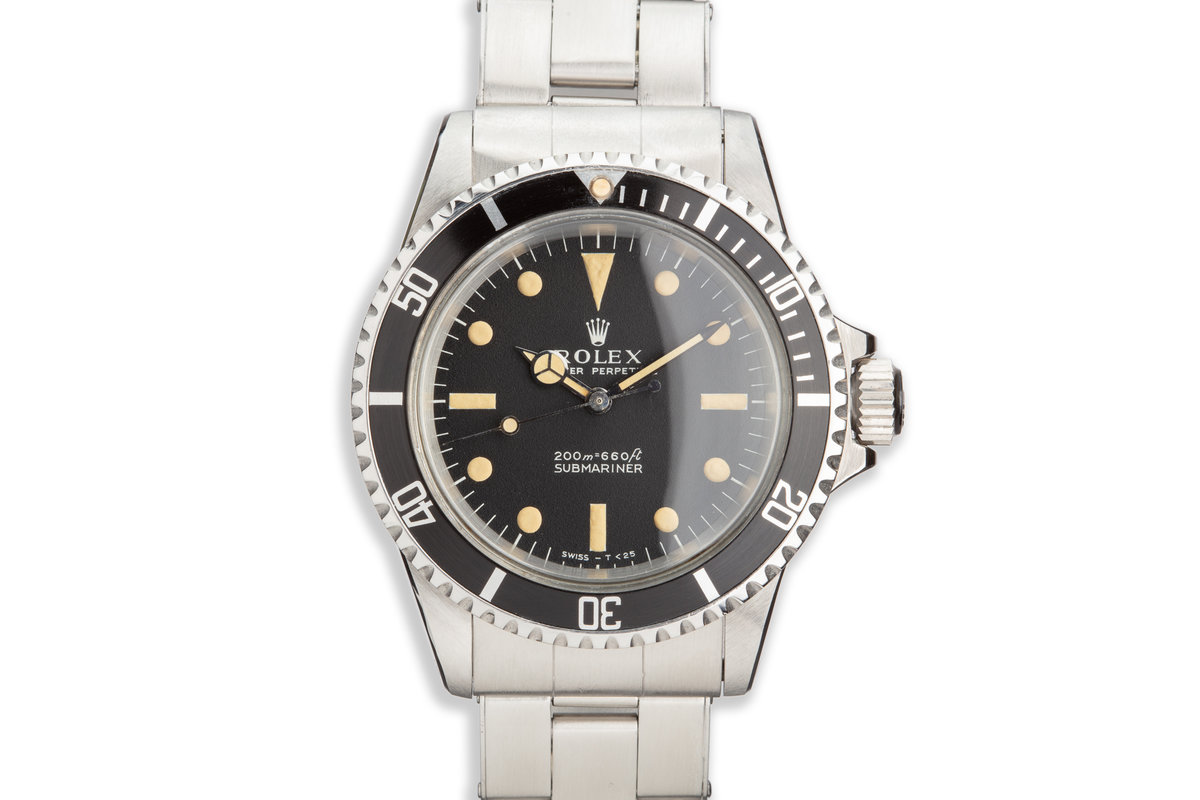 1966 Vintage Rolex Submariner 5513 Meters First Dial photo, #0