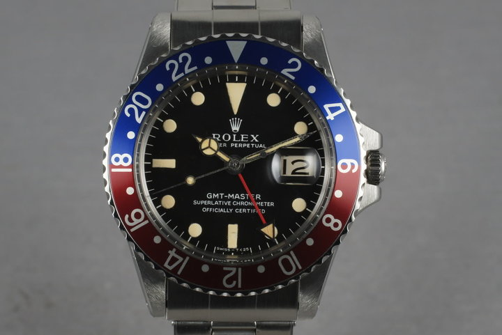 1966 Rolex GMT 1675  Mark 1 Dial photo