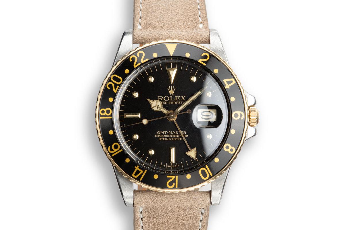 1980 Rolex GMT-Master 16753 Black Nipple Dial photo, #0