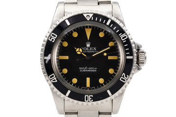 1977 Rolex Submariner 5513 Pre Comex Dial photo