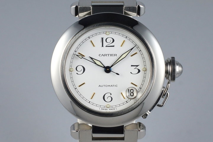 Cartier Pasha 'C' 2324 White Dial photo