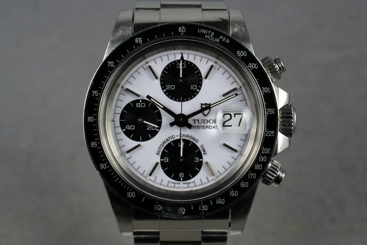 1993 Tudor Chronograph Big Block 79160 with Box and Service Papers photo