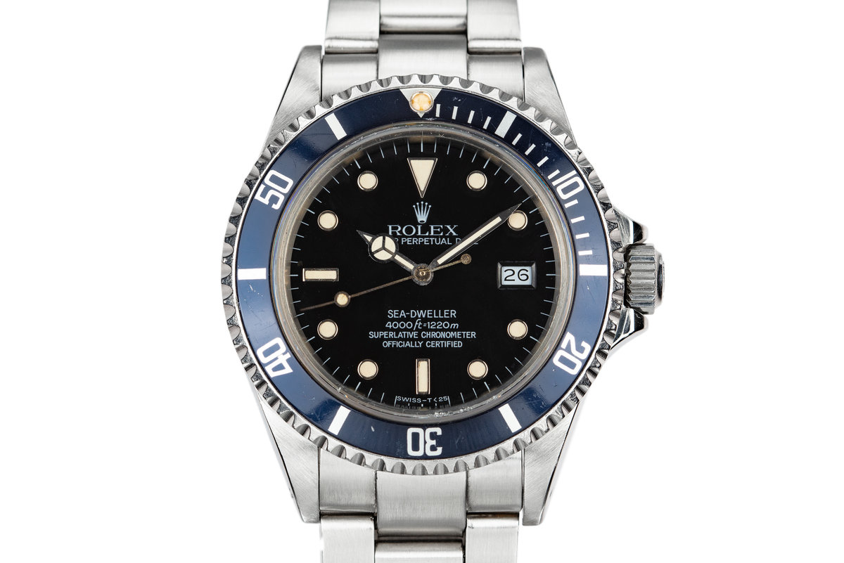 1985 Rolex Sea-Dweller 16660 photo, #0