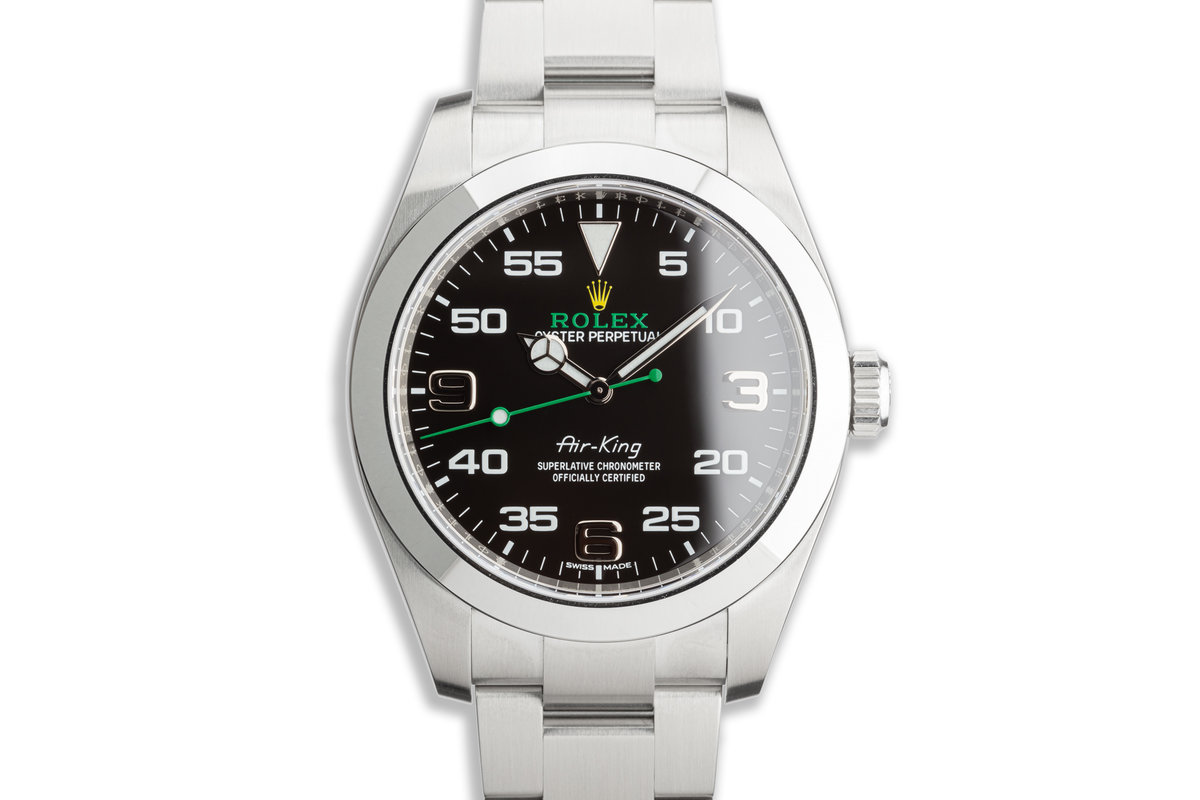 2020 Rolex 40mm Air-King 116900 with Box and Card photo, #0