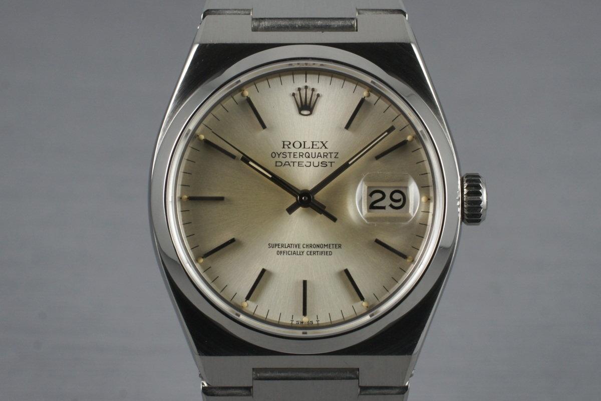 1979 Rolex OysterQuartz Datejust 17000 photo, #0