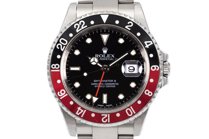 2002 Rolex GMT II 16710 photo