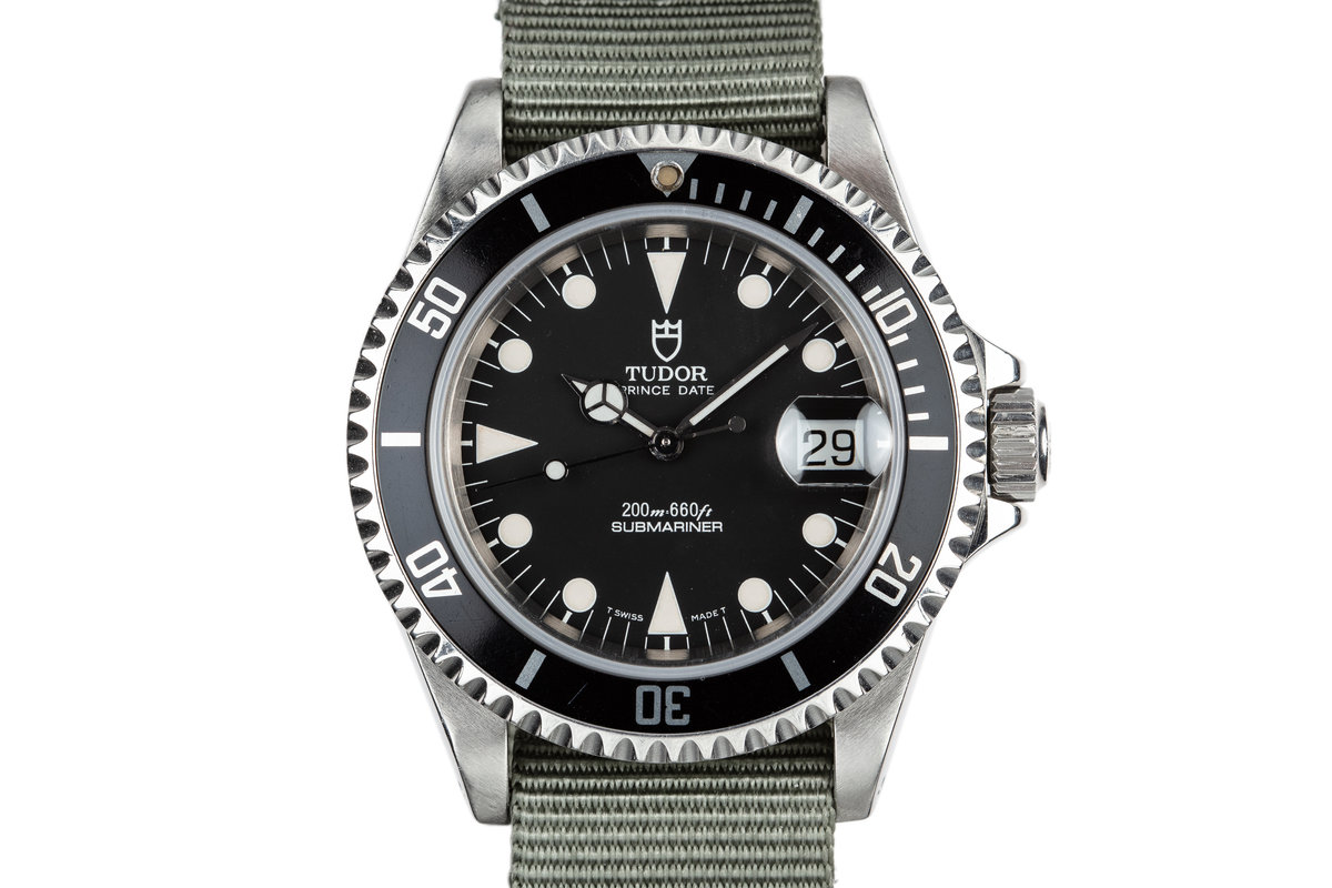 1995 Tudor Submariner Prince Date 79190 Black Dial photo, #0