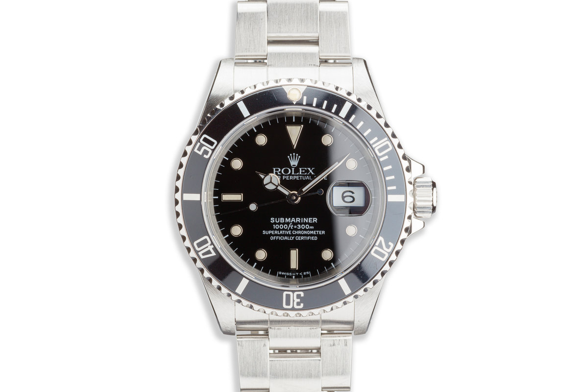 1990 Rolex Submariner 16610 photo, #0