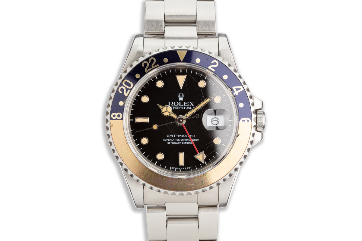 """1993 Rolex GMT-Master 16700 """"Pepsi"""" with Spider dial photo, #0"""