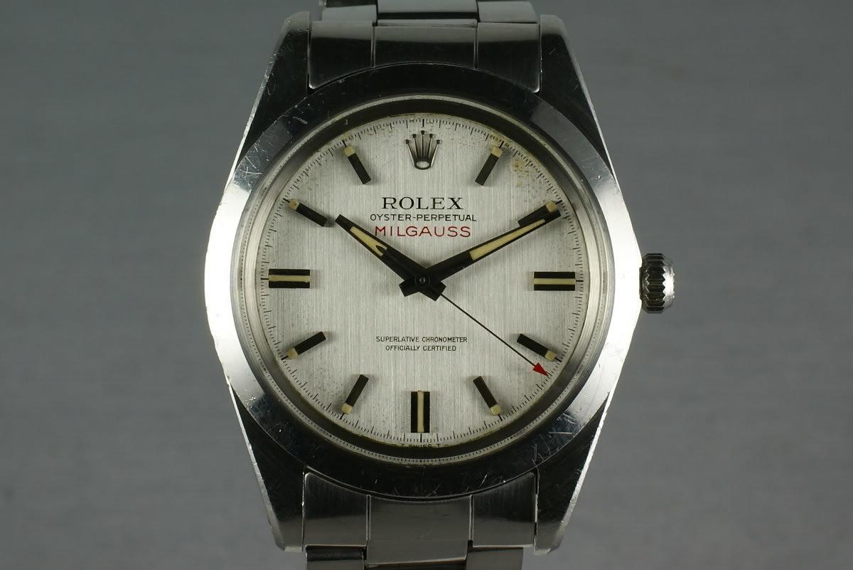 Rolex Milgauss 1019 Unpolished case photo, #0