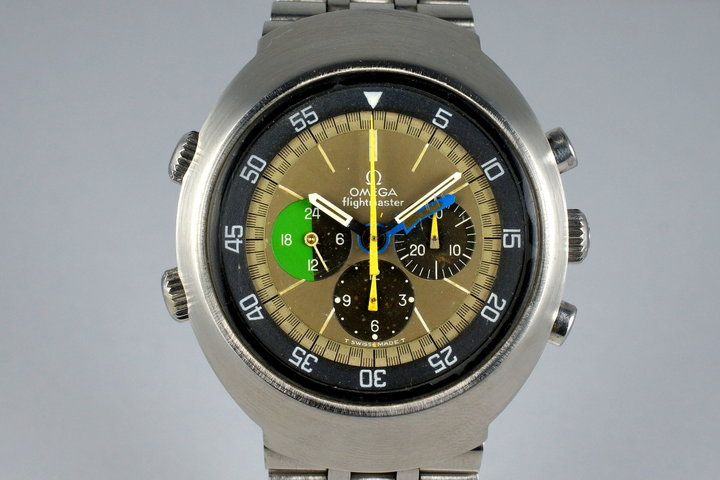 1969 Omega Flightmaster 910 with Tropical Dial photo
