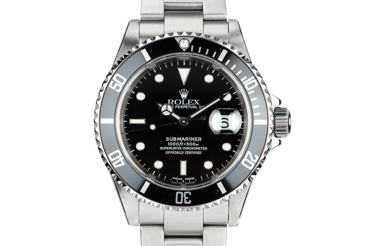 2001 Rolex Submariner 16610 with Box and Papers photo