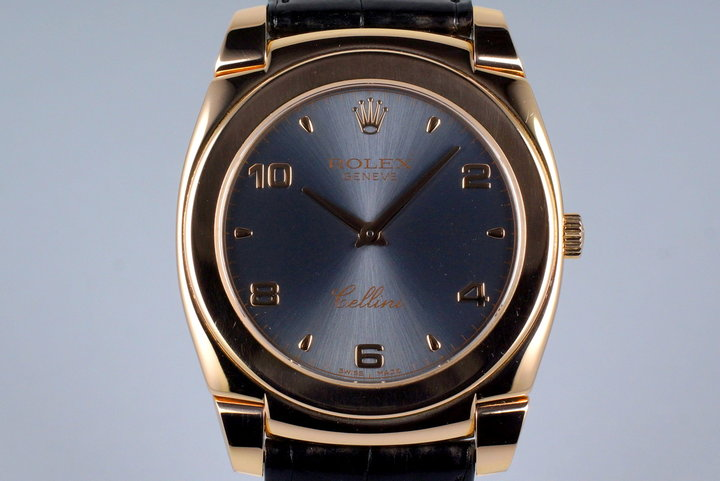 2007 Rolex Rose Gold Cellini 5330/5 with Box and Papers photo