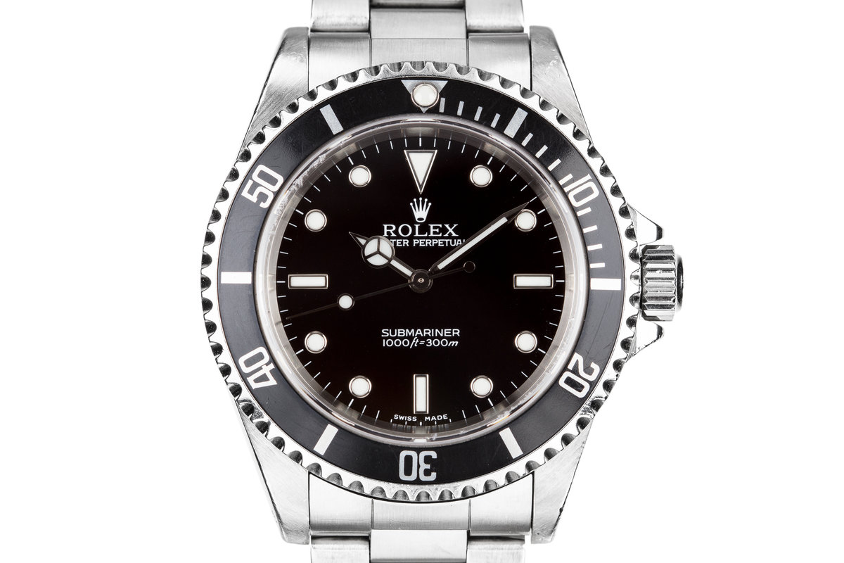 2001 Rolex Submariner 14060 photo, #0