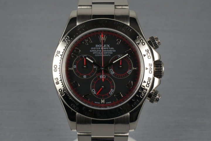 2005 Rolex WG Daytona 116509 with Service Papers photo