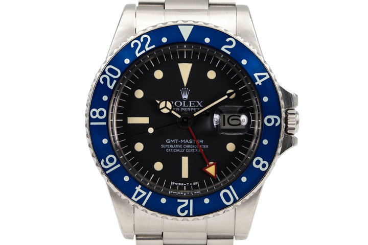 1977 Rolex GMT 1675 Blueberry Radial photo