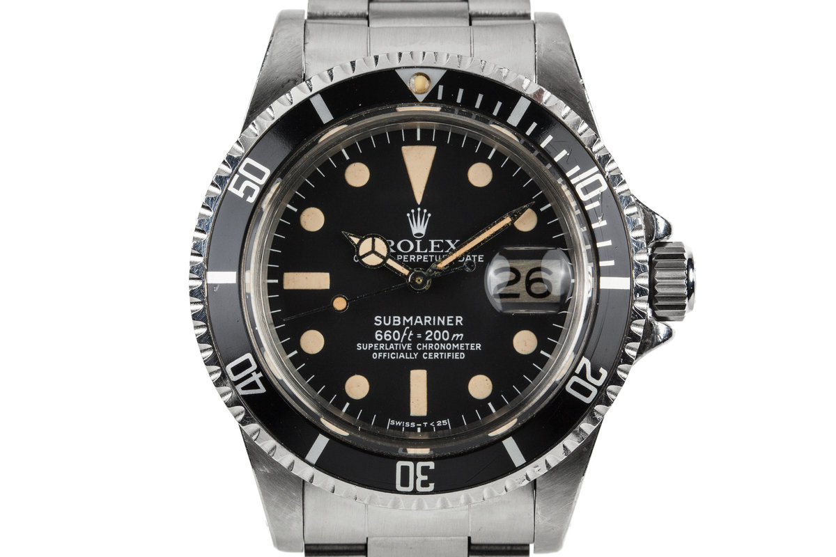 1979 Rolex Submariner 1680 with Box and Papers photo, #0