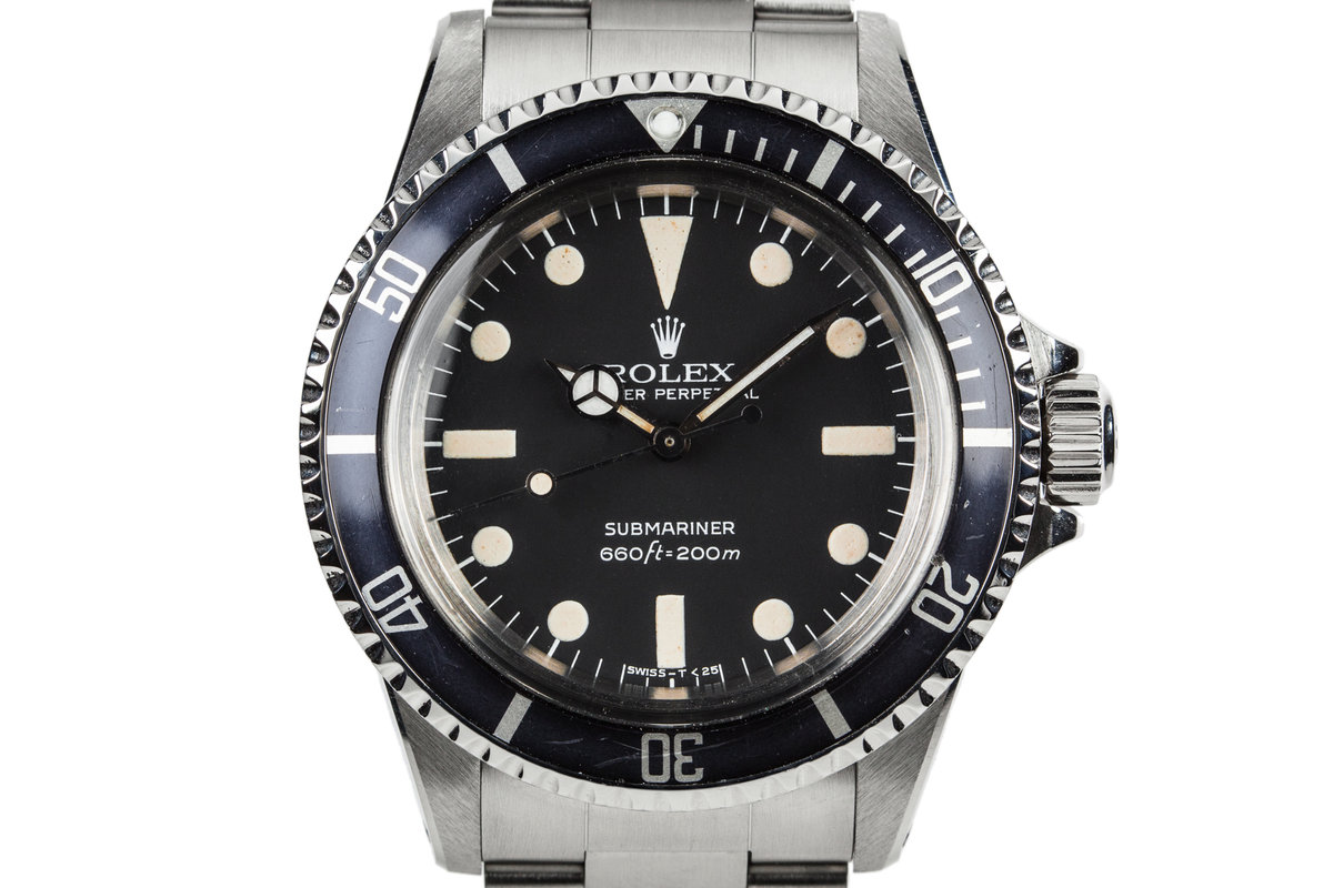 1981 Rolex Submariner 5513 with Mark 4 Maxi Dial photo, #0