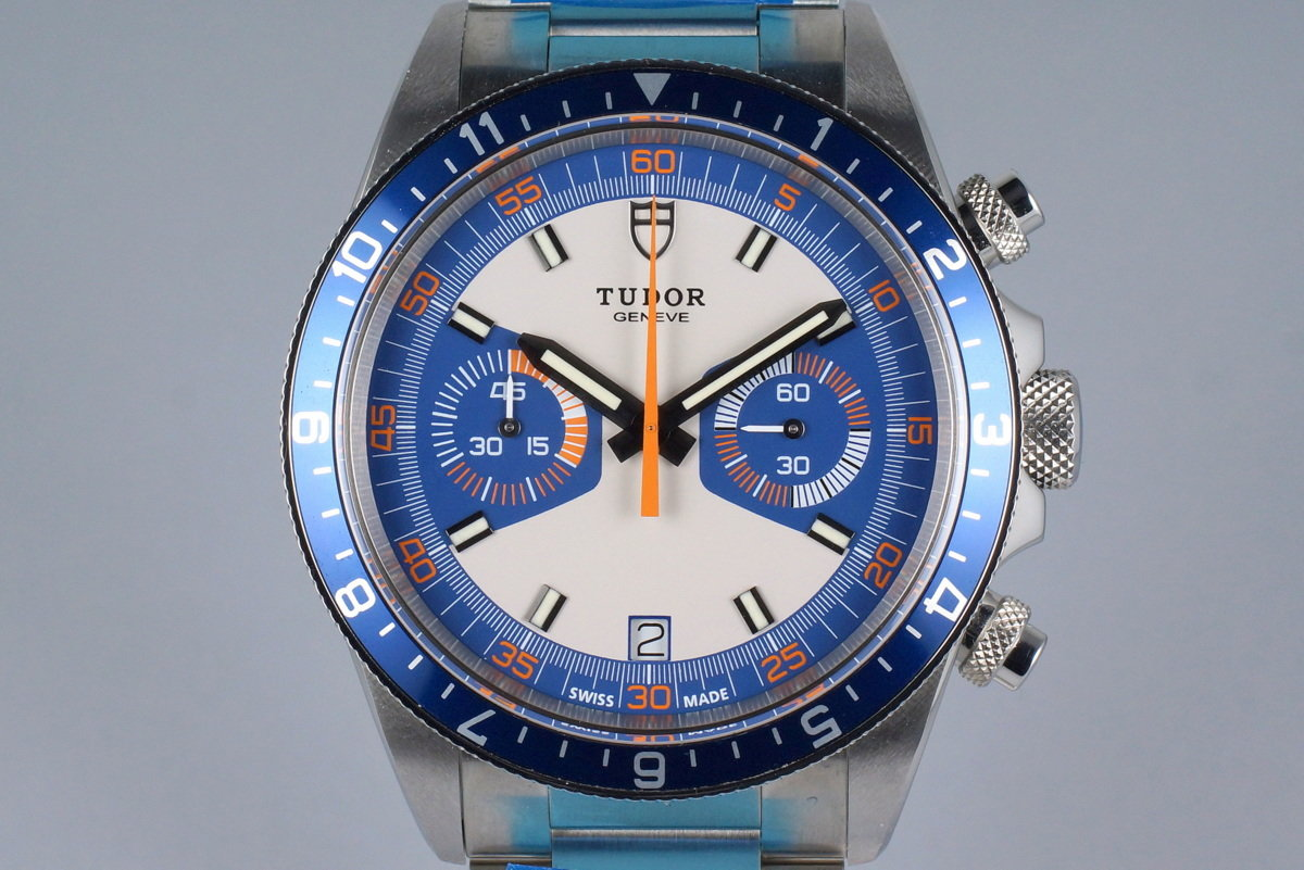 2014 Tudor Heritage Chrono 70330 with Box and Papers MINT photo, #0