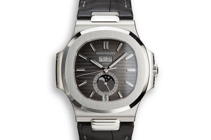 2019 Patek Philippe Nautilus Annual Calendar 5726A-001 with Box and Papers photo