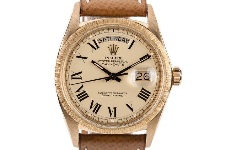 1970 Rolex 18K Day-Date 1807 photo
