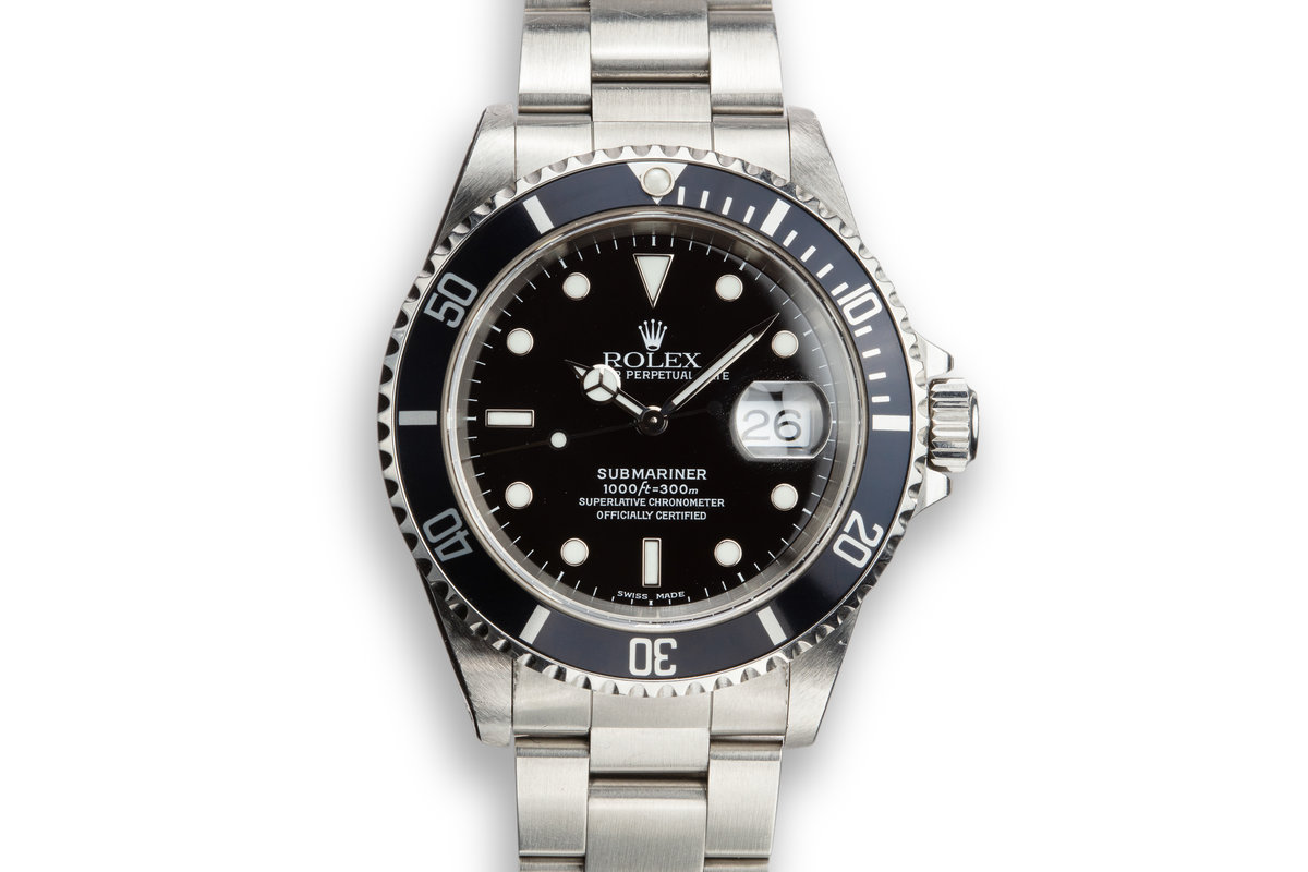 1999 Rolex Submariner 16610 photo, #0
