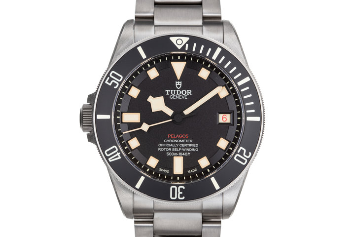 2017 Tudor Titanium Left Wind Pelagos 25610TNL with Box and Papers photo