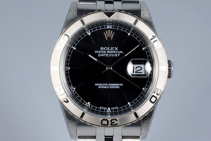 2003 Rolex DateJust 16264 Thunderbird with Box and Papers photo