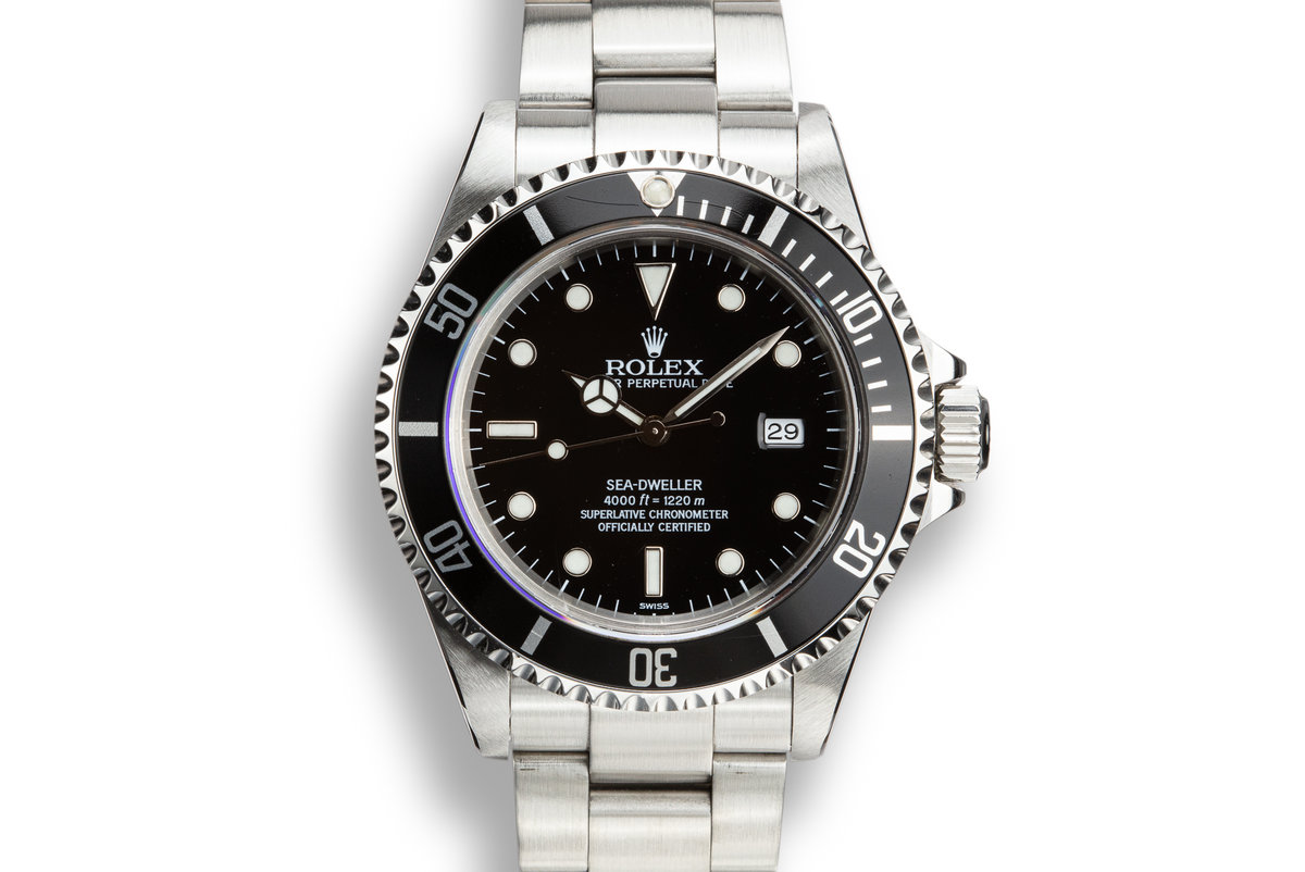 "1999 Rolex Sea-Dweller 16600 with ""SWISS"" Only Dial photo, #0"