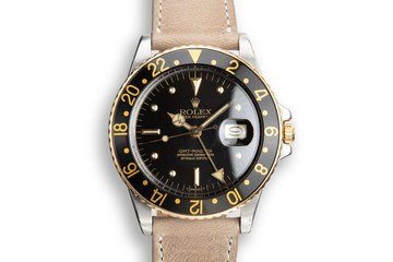 1980 Rolex GMT-Master 16753 Black Nipple Dial photo