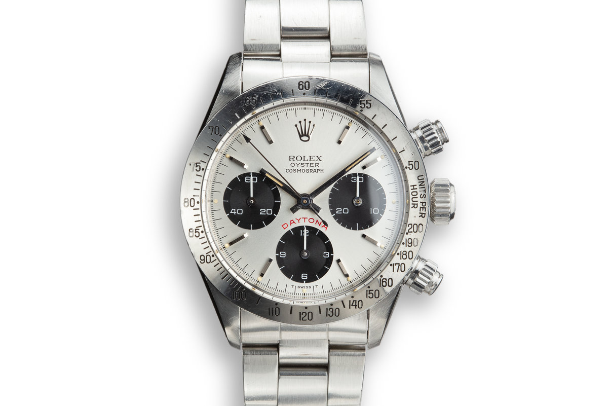 "1979 Rolex Daytona 6265 with Silver ""BIG RED"" Daytona Dial photo, #0"