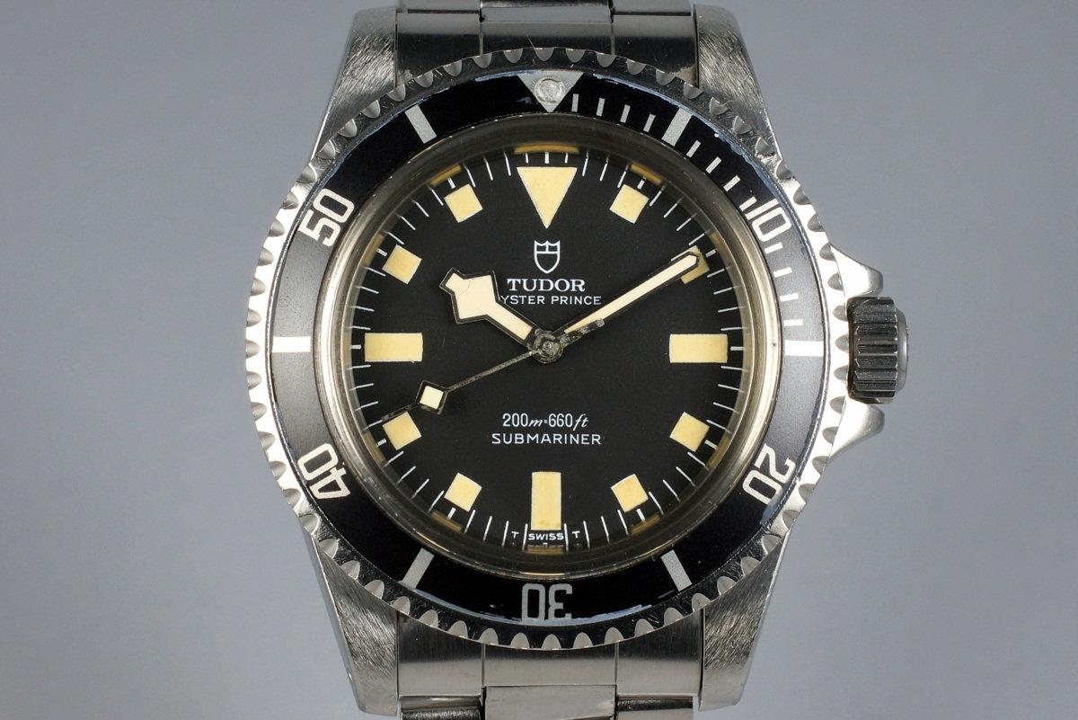 1977 Tudor Submariner 94010 Black Snowflake photo, #0