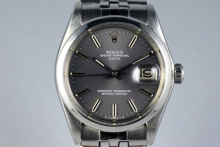 1972 Rolex Date 1500 Gray Sigma Dial photo