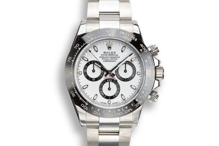 2018 Rolex Daytona 116500LN White Dial with Box and Papers photo