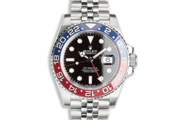 2020 Rolex GMT-Master II 126710BLRO with Box & Card photo
