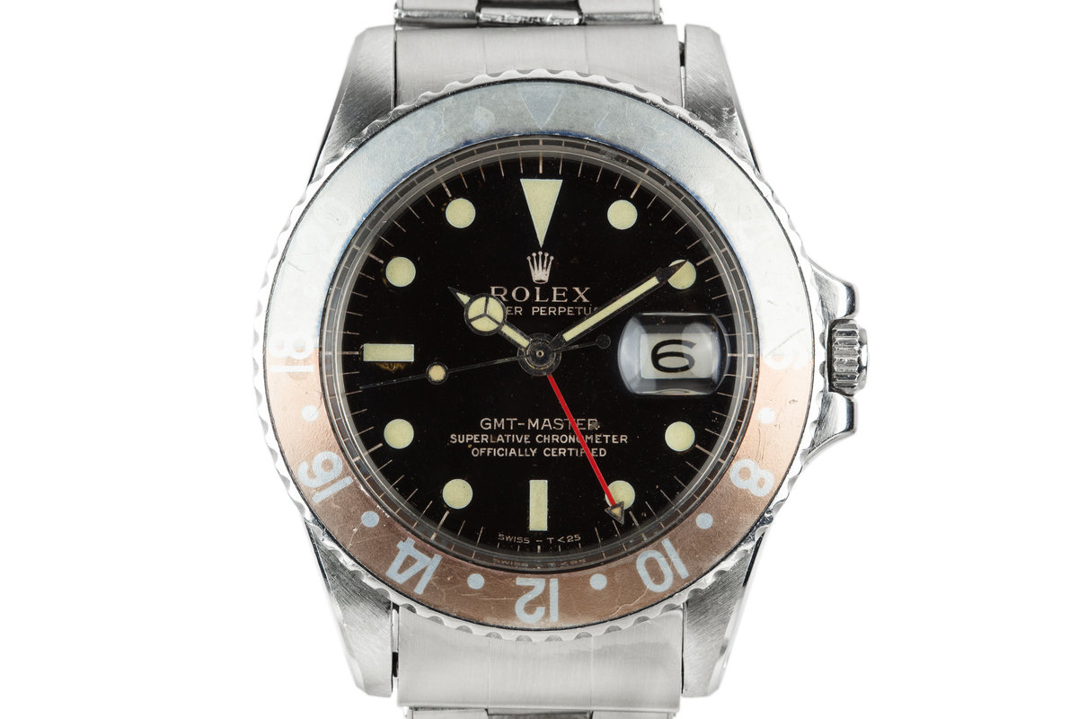 1964 Rolex GMT-Master 1675 Gilt Dial photo, #0