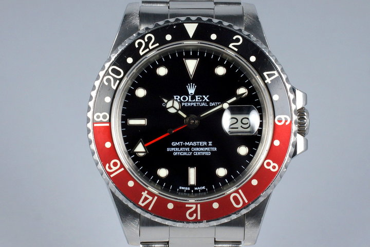 1985 Rolex Fat Lady GMT II 16760 photo