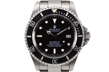 1995 Rolex Sea Dweller 16600 photo
