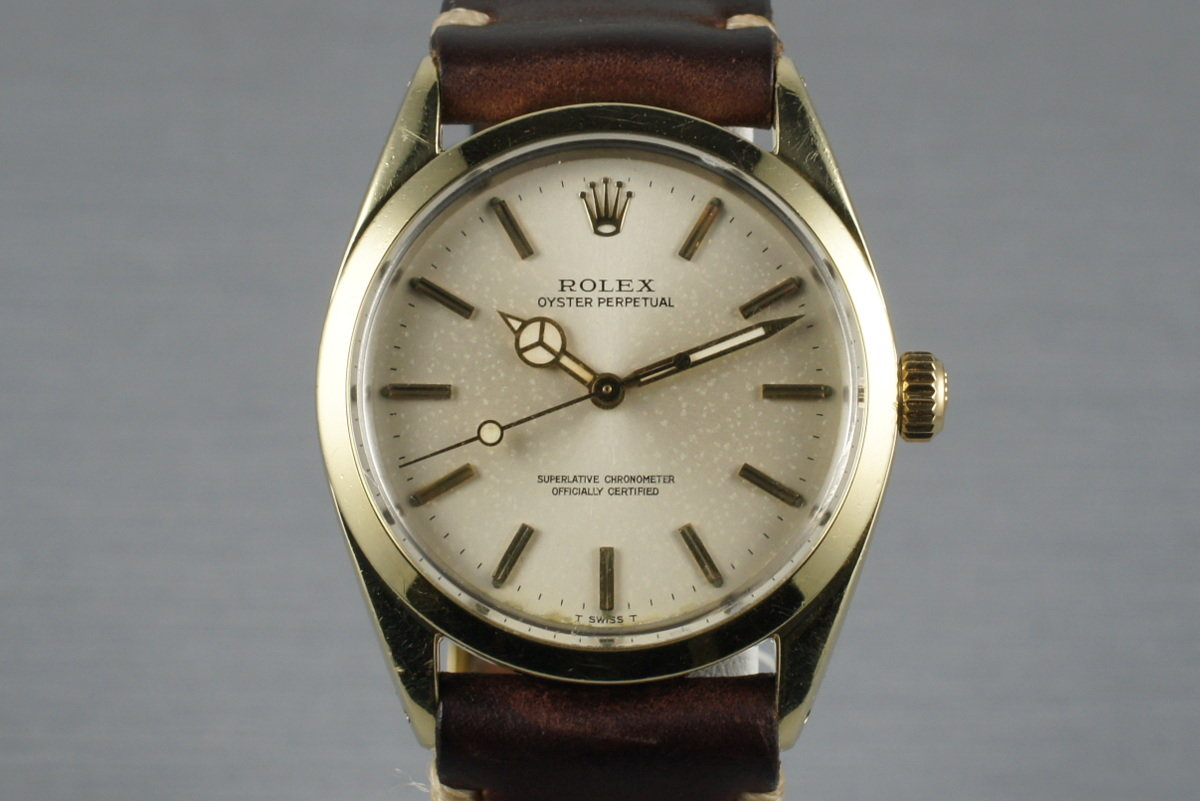 1967 Rolex Gold Shell Oyster Perpetual 1024 photo, #0