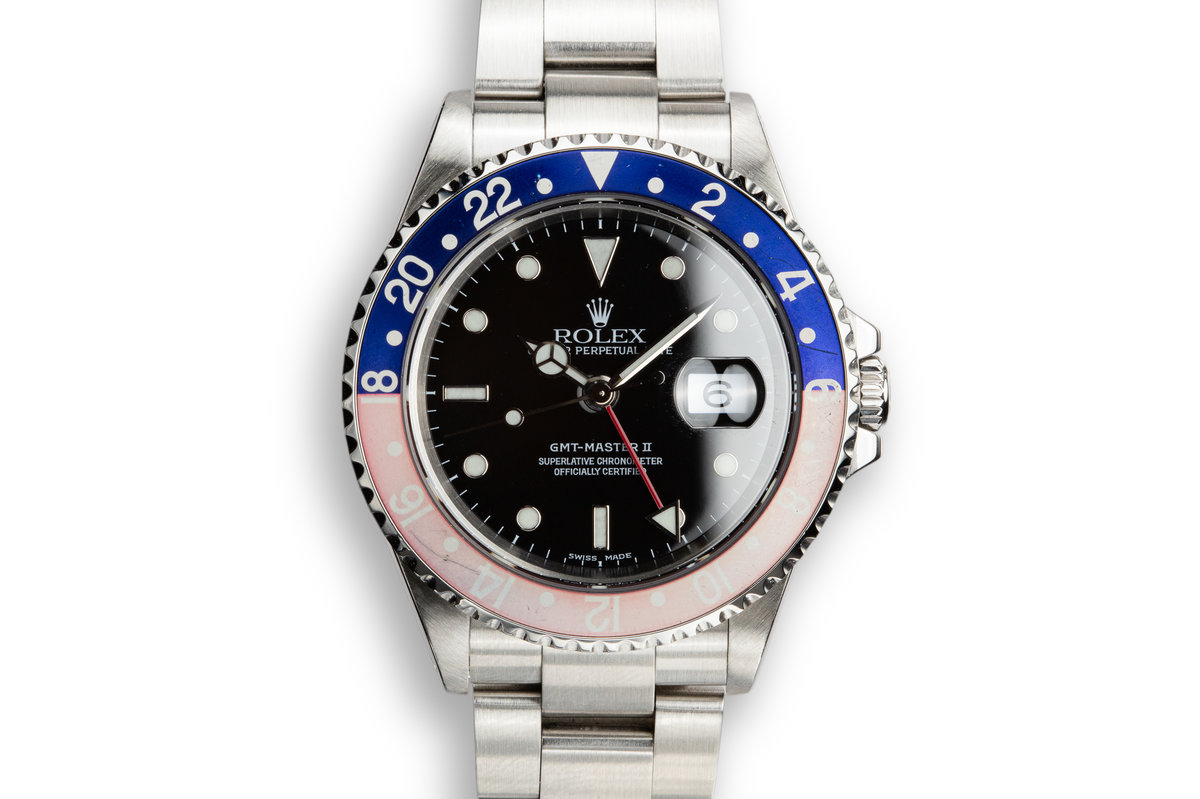 "1999 Rolex GMT-Master II 16710 ""Pepsi"" photo, #0"