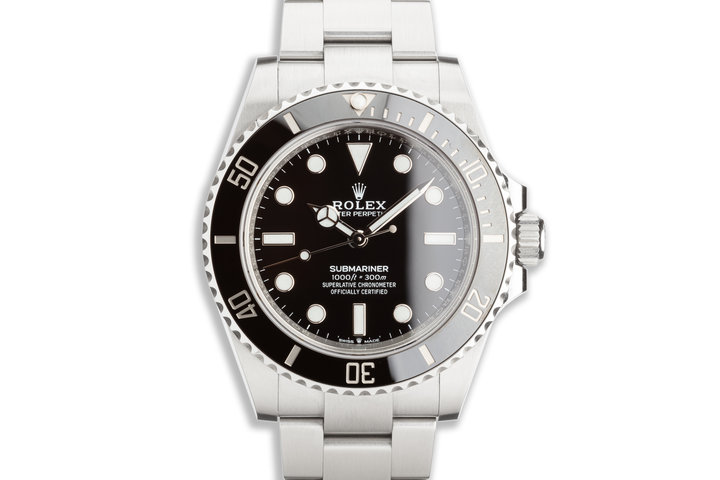 2021 41mm Rolex Submariner No-Date 124060 with Box & Card photo