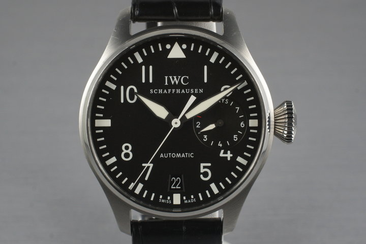 IWC Big Pilot IW5004 with Box and Papers photo